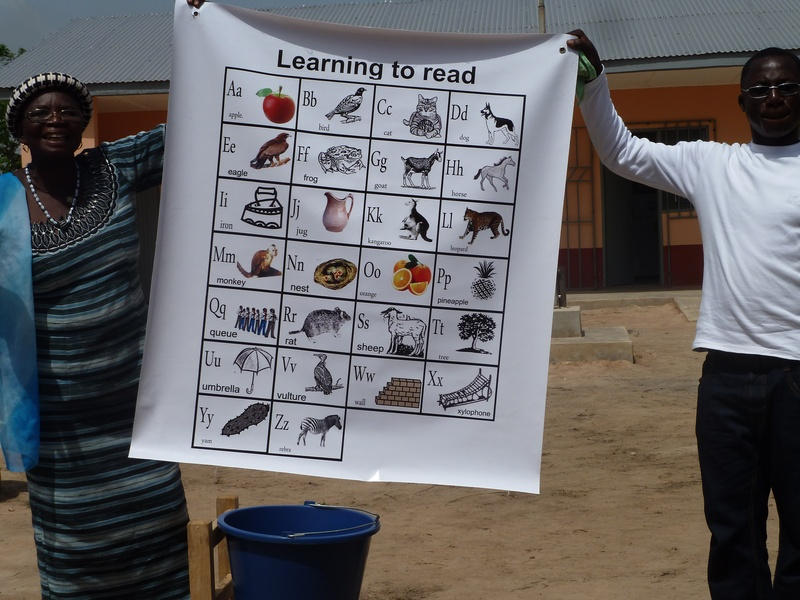 Learning Chart donated by the Artist